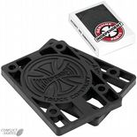 "INDEPENDENT TRUCK Co. INDY Skateboard Riser Pads Hard Risers 1/4"" pair Black"
